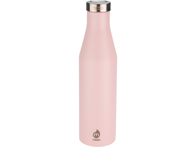 MIZU S6 Enduro LE Bottle 600ml with Stainless Steel Cap soft pink